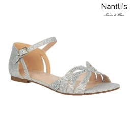BL-Melody-1 Silver Zapatos de novia Mayoreo Wholesale Women Sandals Shoes Nantlis Bridal shoes