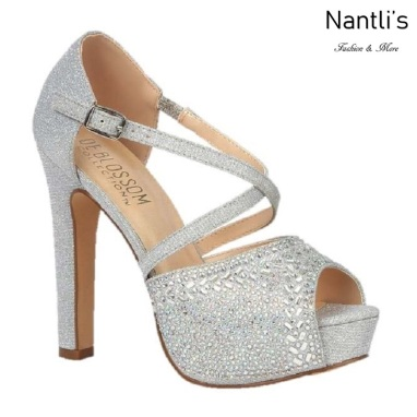 BL-Miya-280 Silver Zapatos de novia Mayoreo Wholesale Women Heels Shoes Nantlis Bridal shoes