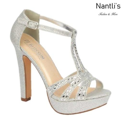 BL-Miya-35 Silver Zapatos de novia Mayoreo Wholesale Women Heels Shoes Nantlis Bridal shoes