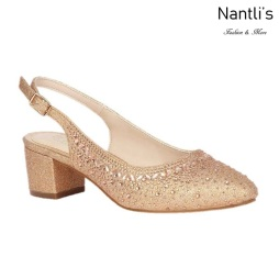 BL-Olivia-30 Rose Gold Zapatos de novia Mayoreo Wholesale Women Heels Shoes Nantlis Bridal shoes