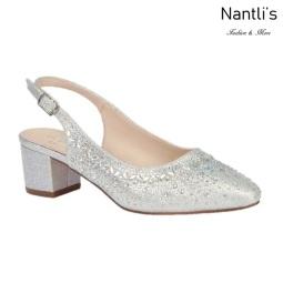 BL-Olivia-30 Silver Zapatos de novia Mayoreo Wholesale Women Heels Shoes Nantlis Bridal shoes