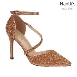 BL-Reese-5 Rose Gold Zapatos de novia Mayoreo Wholesale Women Heels Shoes Nantlis Bridal shoes