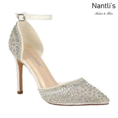 BL-Renzo-126B White Zapatos de novia Mayoreo Wholesale Women Heels Shoes Nantlis Bridal shoes