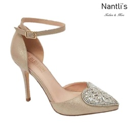 BL-Renzo-49 Champagne Zapatos de novia Mayoreo Wholesale Women Heels Shoes Nantlis Bridal shoes