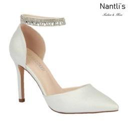 BL-Renzo-65B White Zapatos de novia Mayoreo Wholesale Women Heels Shoes Nantlis Bridal shoes