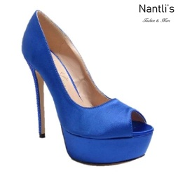 BL-Venus Blue Zapatos de novia Mayoreo Wholesale Women Heels Shoes Nantlis Bridal shoes
