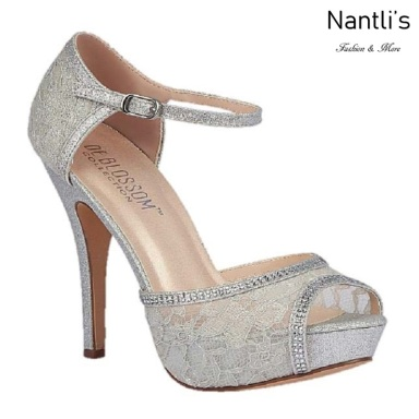 BL-Vice-46 Silver Zapatos de novia Mayoreo Wholesale Women Heels Shoes Nantlis Bridal shoes