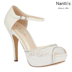 BL-Vice-46B White Zapatos de novia Mayoreo Wholesale Women Heels Shoes Nantlis Bridal shoes