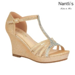 BL-Winni-111 Nude Zapatos de novia Mayoreo Wholesale Women Wedges Shoes Nantlis Bridal shoes