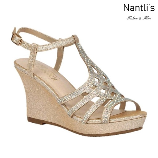 BL-Winni-21 Blush Zapatos de novia Mayoreo Wholesale Women Wedges Shoes Nantlis Bridal shoes