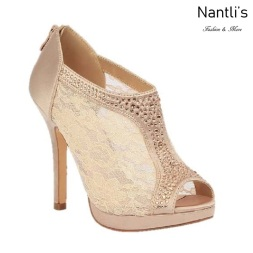 BL-Yael-9 Nude Zapatos de novia Mayoreo Wholesale Women Heels Shoes Nantlis Bridal shoes