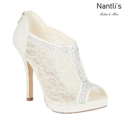 BL-Yael-9B White Zapatos de novia Mayoreo Wholesale Women Heels Shoes Nantlis Bridal shoes