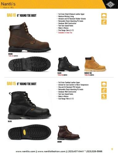 Nantlis-Bonanza vol 10 catalog botas de trabajo mayoreo Wholesale Work boots Page_13