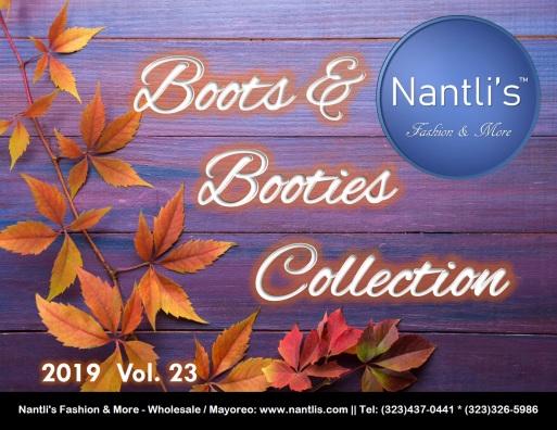 Nantlis Vol BL23 2019 Botas de Mujer mayoreo Catalogo Wholesale womens Boots_Page_01