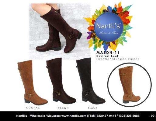 Nantlis Vol BL23 2019 Botas de Mujer mayoreo Catalogo Wholesale womens Boots_Page_09