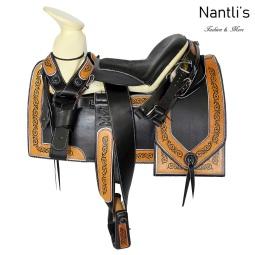 TM-62115 Silla de montar para caballo montura charra Mayoreo Wholesale Mexican horse Saddle Nantlis Tradicion de Mexico