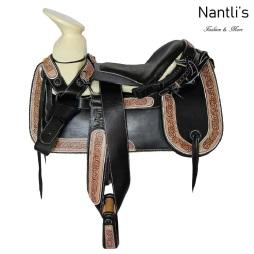 TM-62241 Silla de montar para caballo montura charra Mayoreo Wholesale Mexican horse Saddle Nantlis Tradicion de Mexico