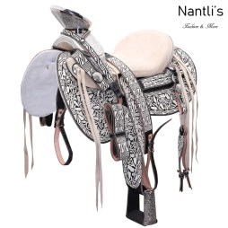 TM-WD1051 Silla de montar para caballo montura charra Mayoreo Wholesale Mexican horse Saddle Nantlis Tradicion de Mexico