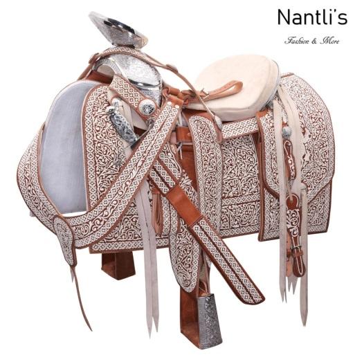 TM-WD1053 Silla de montar para caballo montura charra Mayoreo Wholesale Mexican horse Saddle Nantlis Tradicion de Mexico