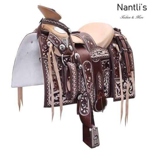 TM-WD1056 Silla de montar para caballo montura charra Mayoreo Wholesale Mexican horse Saddle Nantlis Tradicion de Mexico