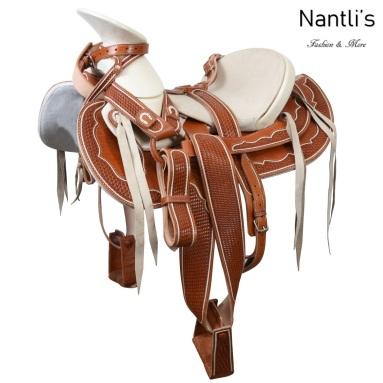 TM-WD1065 Silla de montar para caballo montura charra Mayoreo Wholesale Mexican horse Saddle Nantlis Tradicion de Mexico