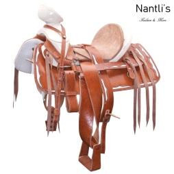 TM-WD1068 Silla de montar para caballo montura charra Mayoreo Wholesale Mexican horse Saddle Nantlis Tradicion de Mexico