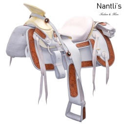 TM-WD1070 Silla de montar para caballo montura charra Mayoreo Wholesale Mexican horse Saddle Nantlis Tradicion de Mexico