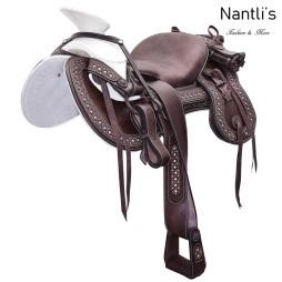 TM-WD1073 Silla de montar para caballo montura charra Mayoreo Wholesale Mexican horse Saddle Nantlis Tradicion de Mexico