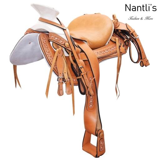 TM-WD1074 Silla de montar para caballo montura charra Mayoreo Wholesale Mexican horse Saddle Nantlis Tradicion de Mexico