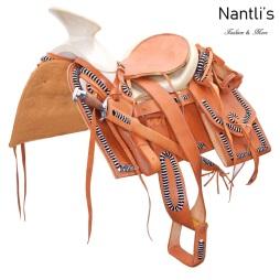 TM-WD1079 Silla de montar para caballo montura charra Mayoreo Wholesale Mexican horse Saddle Nantlis Tradicion de Mexico
