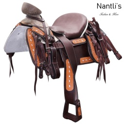 TM-WD1080 Silla de montar para caballo montura charra Mayoreo Wholesale Mexican horse Saddle Nantlis Tradicion de Mexico