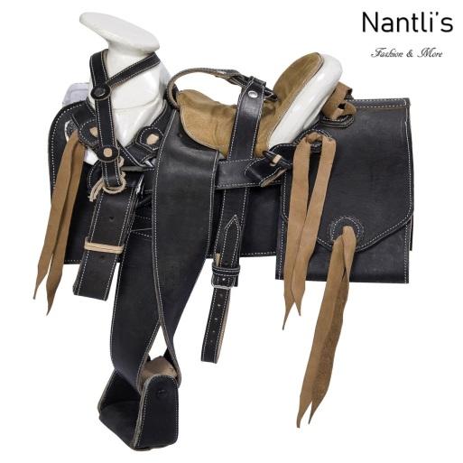 TM-WD1085 Silla de montar para caballo pony montura charra Mayoreo Wholesale Mexican horse Saddle Nantlis Tradicion de Mexico