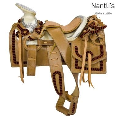 TM-WD1087 Silla de montar para caballo pony montura charra Mayoreo Wholesale Mexican horse Saddle Nantlis Tradicion de Mexico