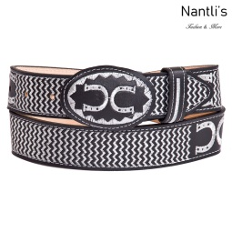 Cintos Mayoreo TM13127 Cinto Vaquero Bordado Embroidered Western Belt Nantlis Tradicion de Mexico