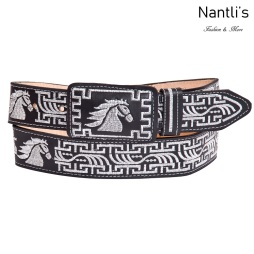Cintos Mayoreo TM13130 Cinto Vaquero Bordado Embroidered Western Belt Nantlis Tradicion de Mexico
