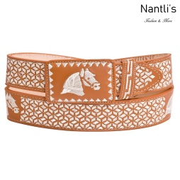 Cintos Mayoreo TM13140 Cinto Vaquero Bordado Embroidered Western Belt Nantlis Tradicion de Mexico