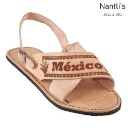 Huaraches Mayoreo TM33117 Natural Huaraches Mexicanos de Hombre men Mexican Sandals Nantlis Tradicion de Mexico