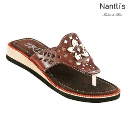 Huaraches Mayoreo TM35121 Brown Huaraches Mexicanos de Mujer Women Mexican Sandals Nantlis Tradicion de Mexico