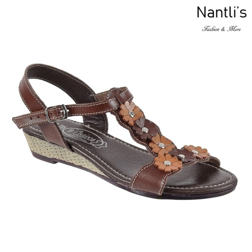 Huaraches Mayoreo TM35183 Brown Huaraches Mexicanos de Mujer Women Mexican Sandals Nantlis Tradicion de Mexico