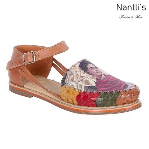 Huaraches Mayoreo TM35240 Multi Frida Kahlo Huaraches Mexicanos de Mujer Women Mexican Shoes Nantlis Tradicion de Mexico