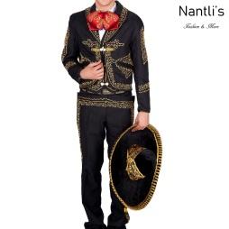 Traje de Charro Mayoreo TM72141 Black-Gold Traje de Charro completo Nantlis Tradicion de Mexico