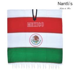 Jorongo Gaban Mayoreo TM73313 Gaban-Sarape Mexicano Escudo de Mexico Mexican Serape 76x36 Nantlis Tradicion de Mexico