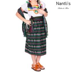 Traje tipico Mexicano Mayoreo TM74213 black Traje tipico de indita ninas Typical girls Mexican Dress Nantlis Tradicion de Mexico
