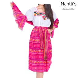 Traje tipico Mexicano Mayoreo TM74213 fuchsia Traje tipico de indita ninas Typical girls Mexican Dress Nantlis Tradicion de Mexico