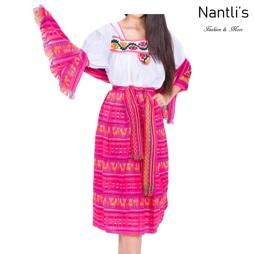 Traje tipico Mexicano Mayoreo TM74213 fuchsia Traje tipico de indita ninas Typical girls Mexican Dress Nantlis Tradicion de Mexico