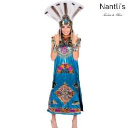 Traje tipico Mexicano Mayoreo TM94326 Traje Azteca Mujer Aztec Costume Nantlis Tradicion de Mexico