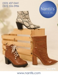 Nantlis Vol IF4 Zapatos y Botas de Mujer mayoreo Catalogo Wholesale womens Shoes and boots_Page_01