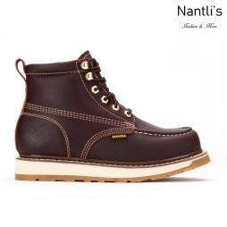 BA612 burgundy Botas de Trabajo Mayoreo Wholesale Work Boots Nantlis