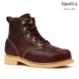 BA614 burgundy Botas de Trabajo Mayoreo Wholesale Work Boots Nantlis