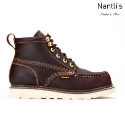 BA630 burgundy Botas de Trabajo Mayoreo Wholesale Work Boots Nantlis